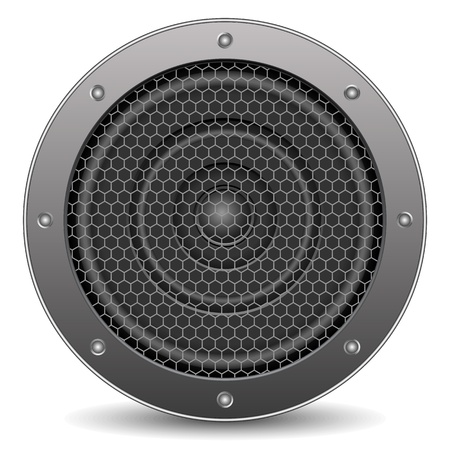 speaker grill: Sound speaker