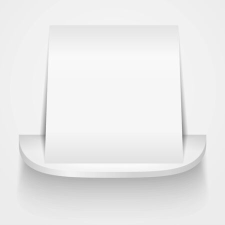 Paper on the shelf Vector