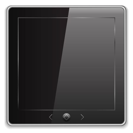 handheld device: Tablet PC Icon Illustration