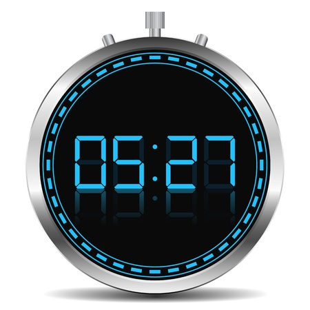 Digital Timer Stock Vector - 14219686