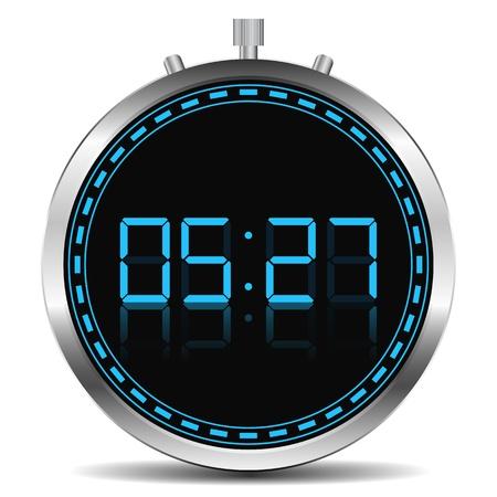 Digital Timer Stock Vector - 14219686