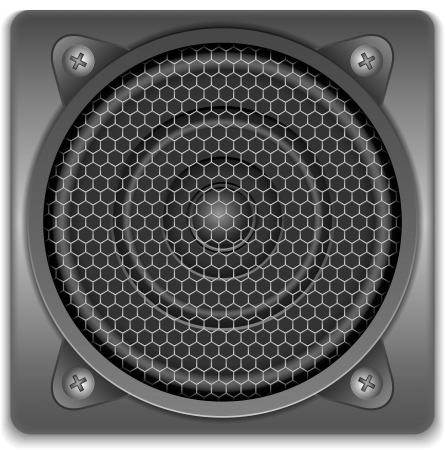 stereo subwoofer: Sound Speaker Icon