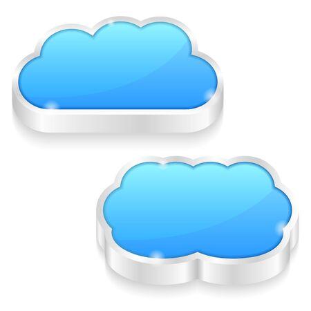 metal spring: Cloud Icons