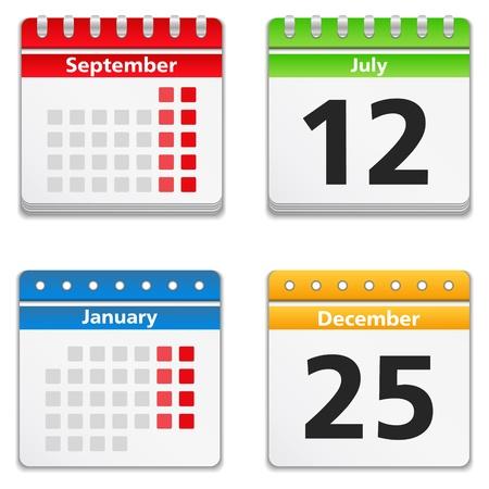 calendari: Calendar Icone