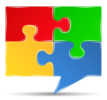 hablando: Puzzle bocadillo