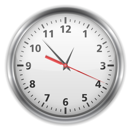 Clock Stock Vector - 14460128