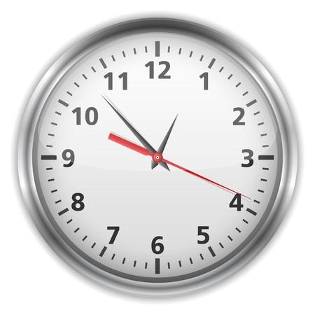 orologio da parete: Orologio Vettoriali