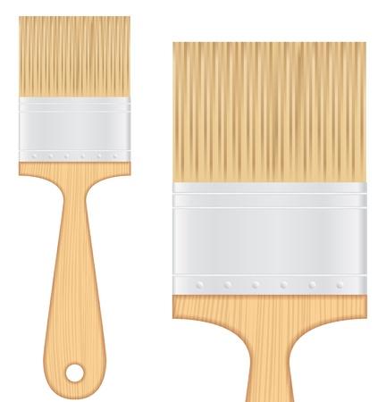 Wooden brush Stock Vector - 14637168
