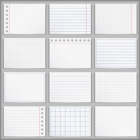 copybook: Blank Paper Illustration