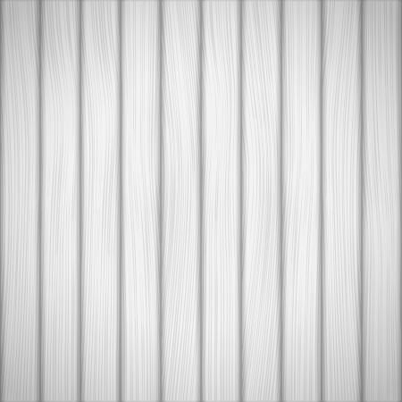 White wood background, Vector