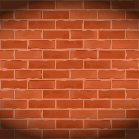 Vintage brick wall Stock Vector - 14711082