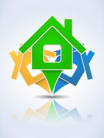 home logo: House Icon