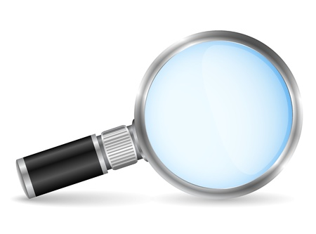 Magnifying glass Stock Vector - 14813451