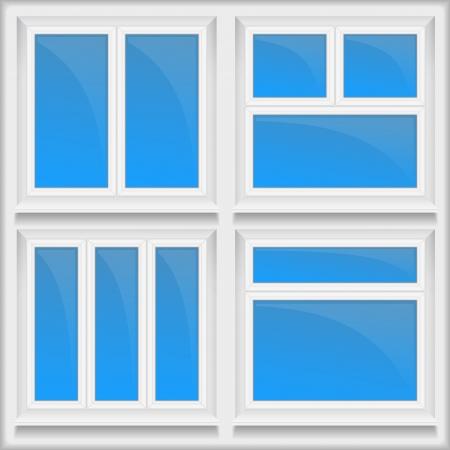 window sill: Windows with sills