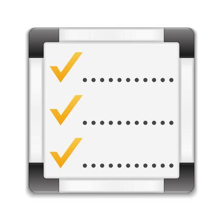 todo: Check list icon Illustration