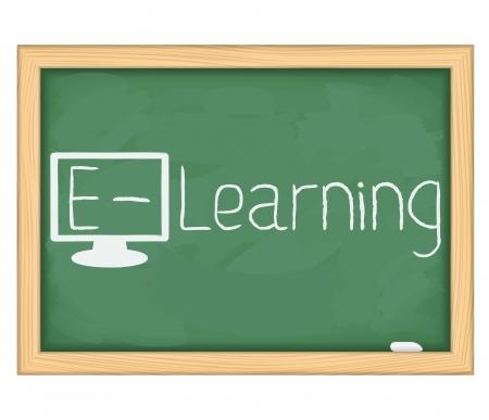 e learning: E-Learning concept