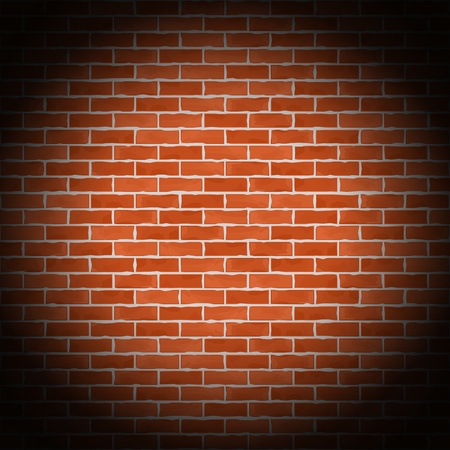 Brick wall background Stock Vector - 14897795