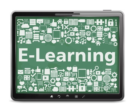 gadget: E-Learning concept