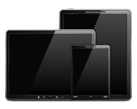 Tablet computers and mobile phone