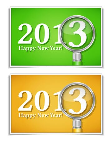 Happy new year banners Stock Vector - 15136722