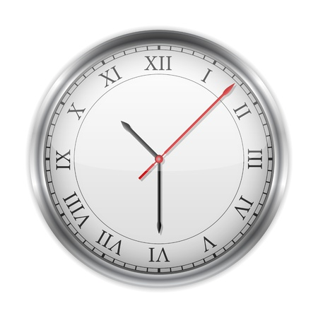 object with face: Clock