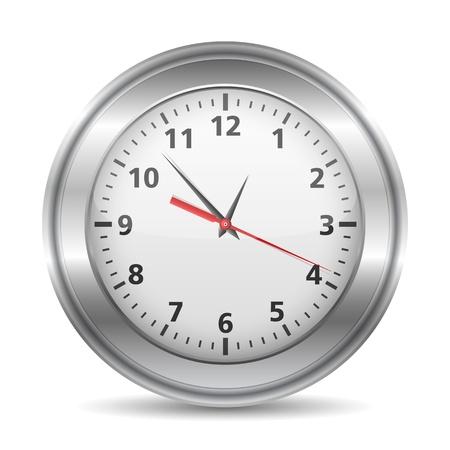 office clock: Reloj