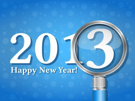 Happy new year card Stock Vector - 15333644