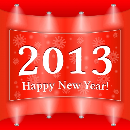 Happy New Year Banner Stock Vector - 15333643