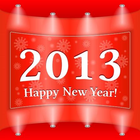 Happy New Year Banner Stock Vector - 15333643