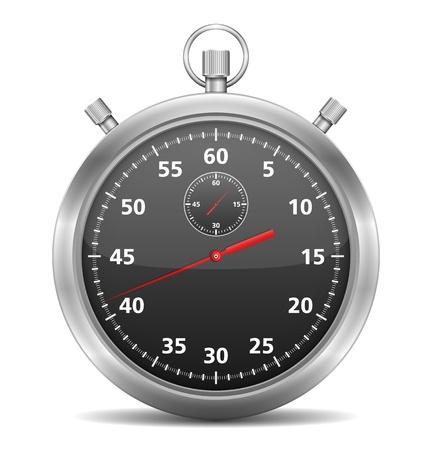 Noir chronomètre