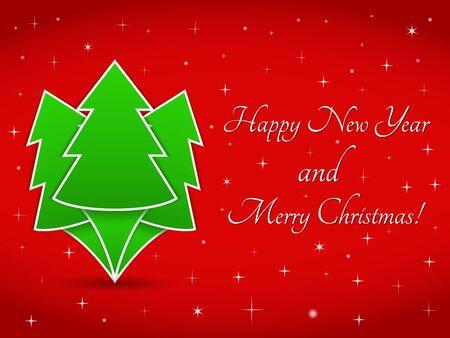 Christmas card Stock Vector - 16030958