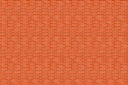 Big horizontal brown brick wall Stock Vector - 16170442