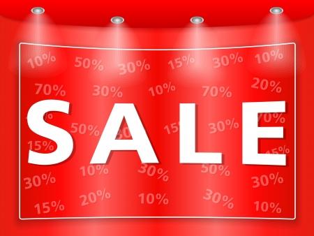 Sale banner Stock Vector - 16613252