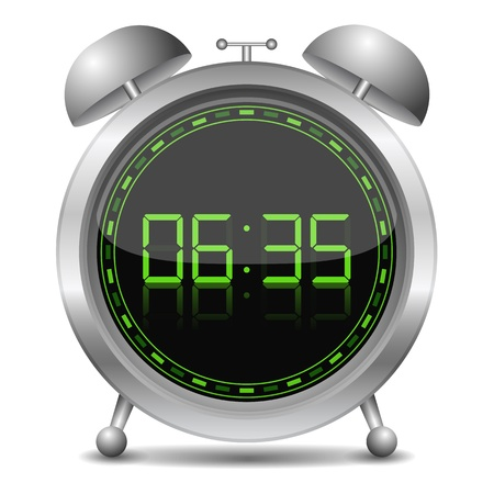 Digital alarm clock Stock Vector - 17102123