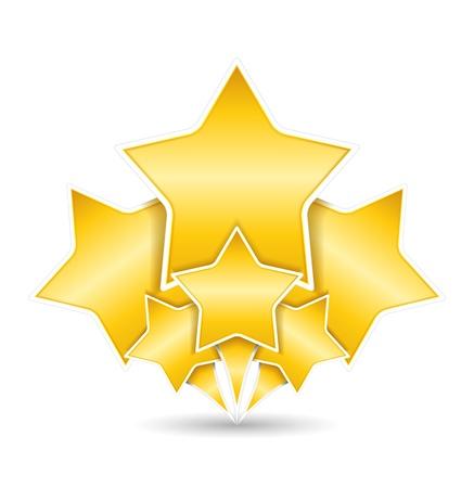 award background: Golden Stars