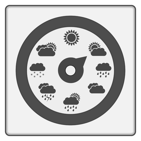 Weather Indicator Stock Vector - 17722669
