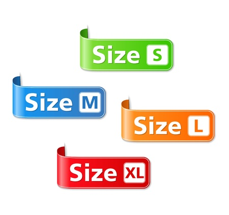 moderate: Size Labels