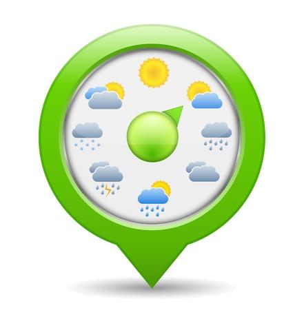 Weather Indicator Stock Vector - 17722676