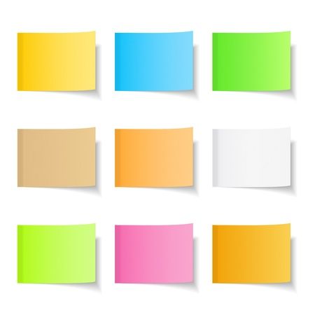 Sticky Notes Stock Vector - 17873010