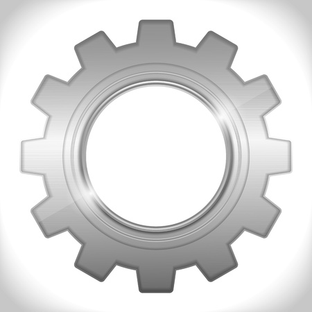 web2: Icon of a gear