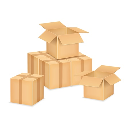Boxes Stock Vector - 18791083