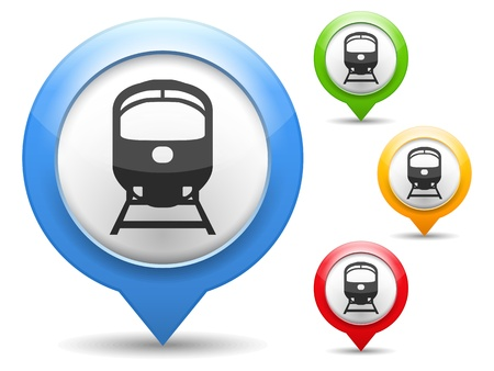 pin point: Train Icon