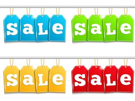 hang tag: Sale Tags Illustration