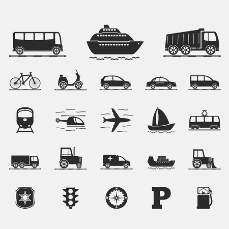 barge: Transport Icons