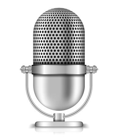 vintage microphone: Microphone