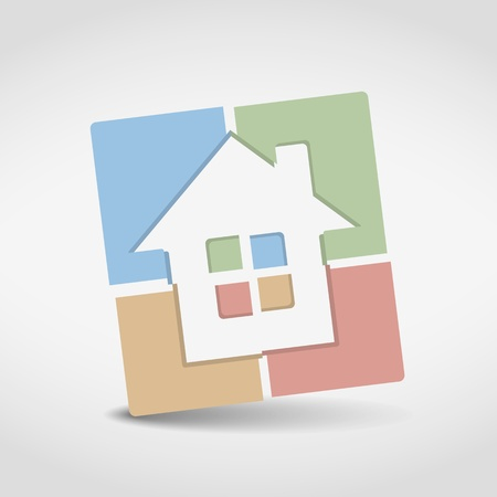 House Icon Stock Vector - 20350986