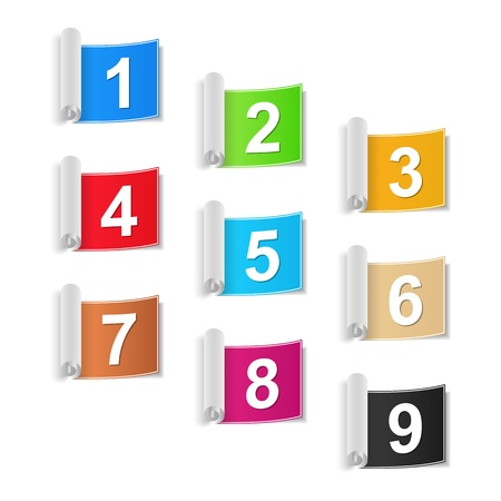 Numbers Set Stock Vector - 20351125