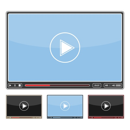 high volume: Simple video player design