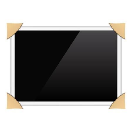 Horizontal photo frame Vector