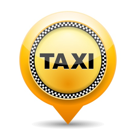 public transport: Taxi icon